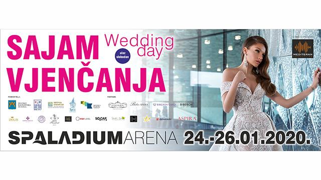 Wedding Day 2020 u Splitu od 24. do 26. siječnja